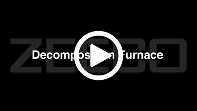 Burners Firing in Decomposition Furnace_ZEECO Burners