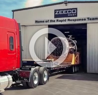 Zeeco's Aftermarket Parts & Service Rapid Response Team