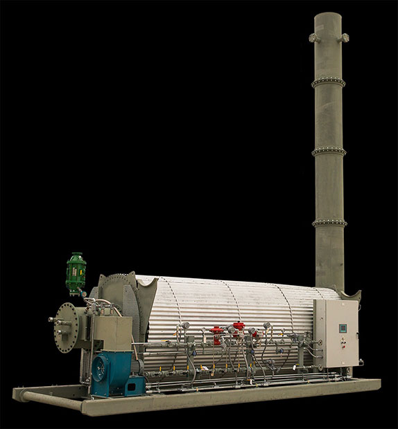 Horizontal Packaged Thermal Oxidizer