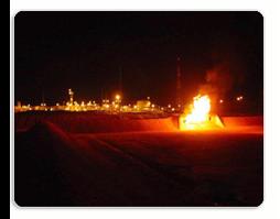 Burn-Pit Flare