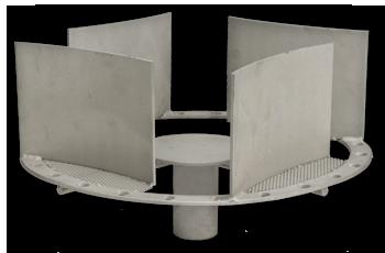 Ultra-Low NOx Burner Stabilizer / Flame Director