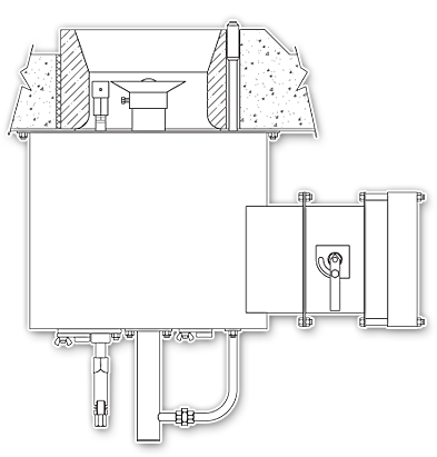 GSF Staged Fuel Round Flame Burner