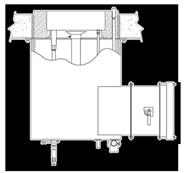 GSFR Staged Fuel Round Flame Burner