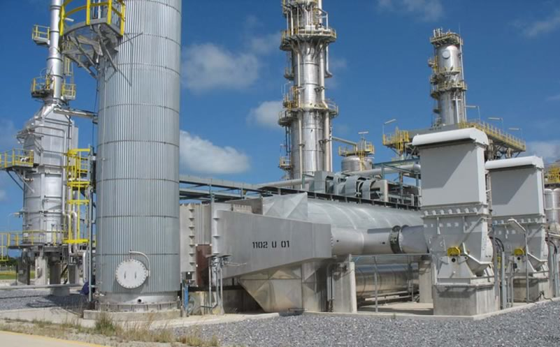 Recuperative Thermal Oxidizer with Combustion Air Pre-Heater
