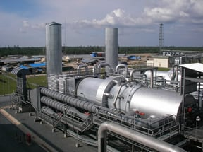 Incinerator with Inline Waste Heat Recovery System