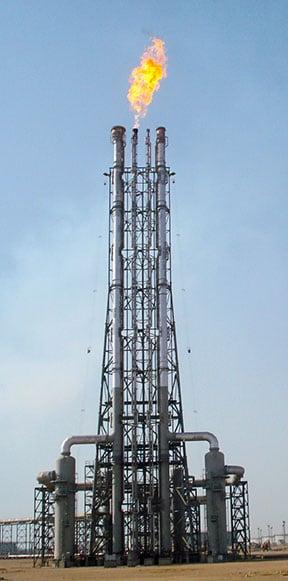 Zeeco Flare Structure