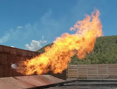Zeeco Liquid Flare