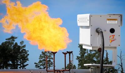 Flare Monitoring / Video Imaging Spectroradiometry