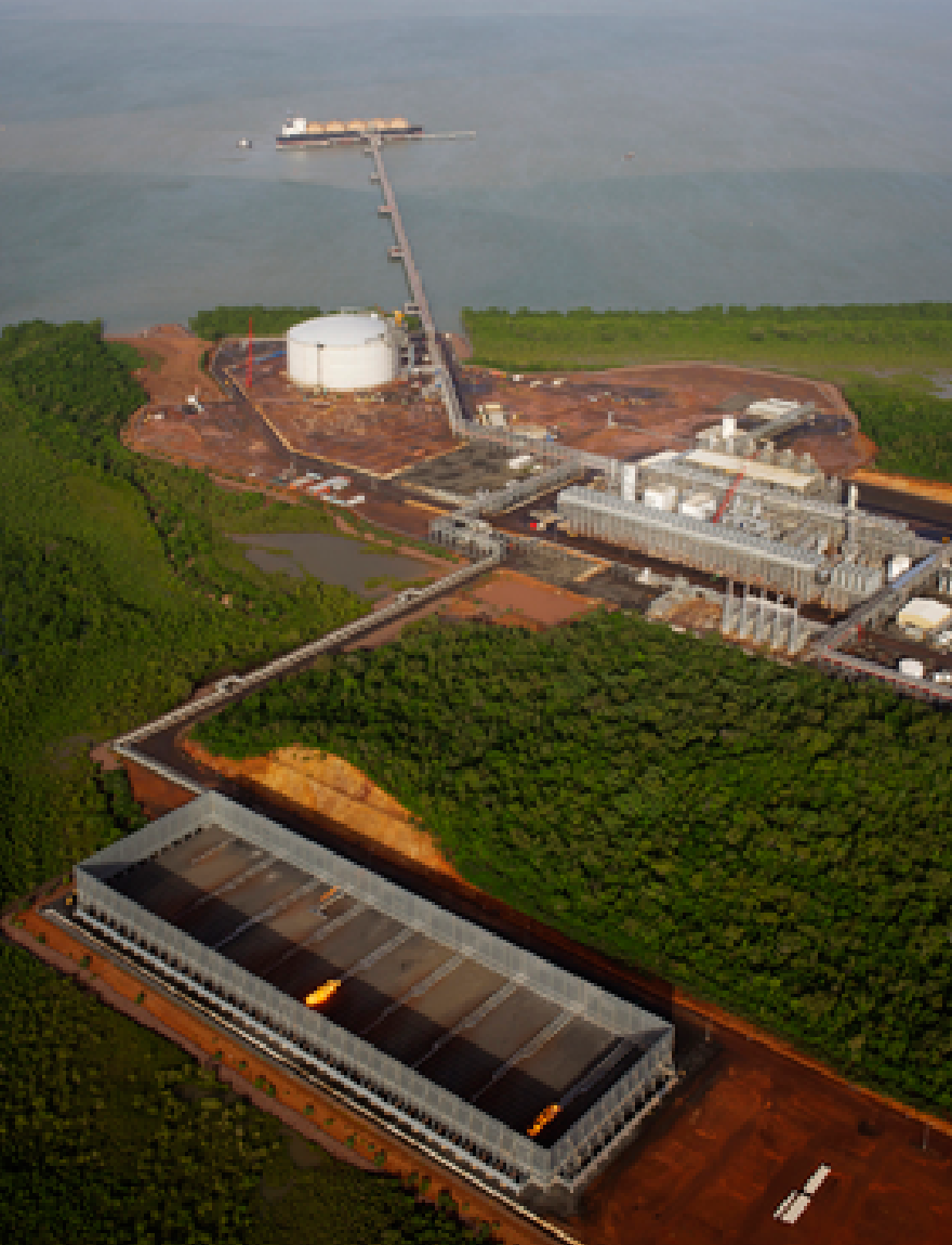 Australian Ground Flare System in an LNG Facility