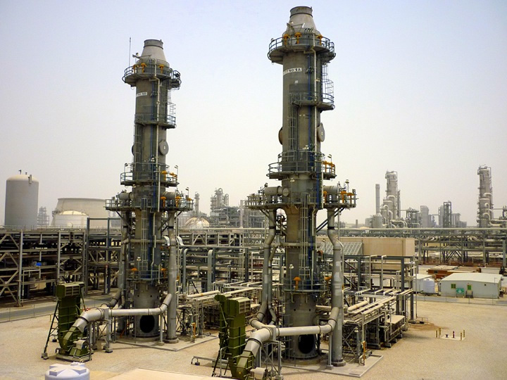 Zeeco Thermal Oxidizer units operating in the Middle East.
