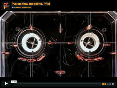 Physical flow modeling, PFM Video
